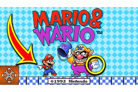 10 DARK SECRETS About MARIO And WARIO Nintendo Hid Within ...