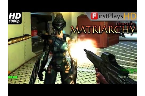 Operation: Matriarchy - PC Gameplay 1080p - YouTube