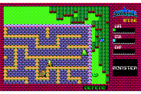 Download Hydlide (NES) - My Abandonware