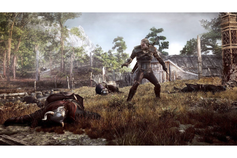 The Witcher 3 Live E3 Gameplay - YouTube