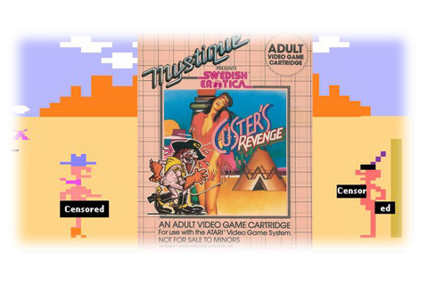 Custer's Revenge (Atari 2600/1982) - YouTube Kultur ...