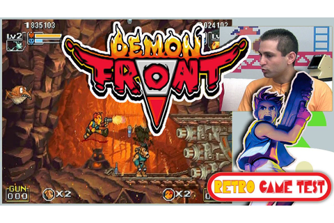 "Demon Front ""Arcade"" Retro Game Test - REVIEW fr vf - YouTube"