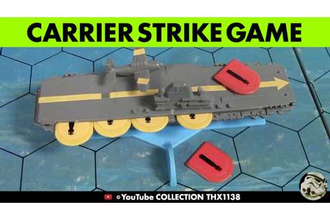 CARRIER STRIKE Naval Strategy Board Game Milton Bradley ...