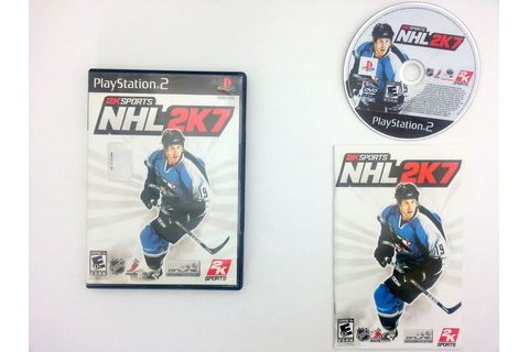 NHL 2K7 game for Sony Playstation 2 PS2 -Complete ...