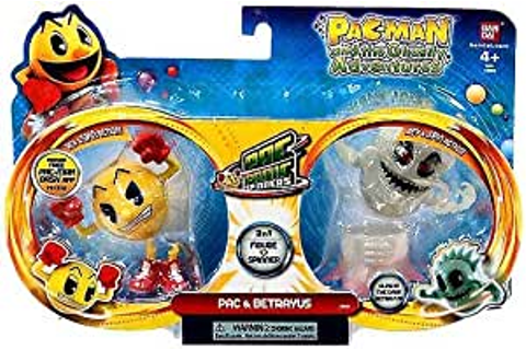 Amazon.com: Pac-Man Pac-Panic Spinners, Pac and Betrayus ...