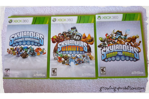 Review: Skylanders Swap Force Xbox 360 | AnnMarie John