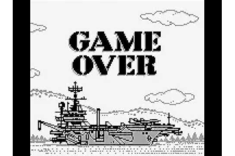 Phantom Air Mission (GAME BOY - 1992) ★ Turn and Burn: The ...