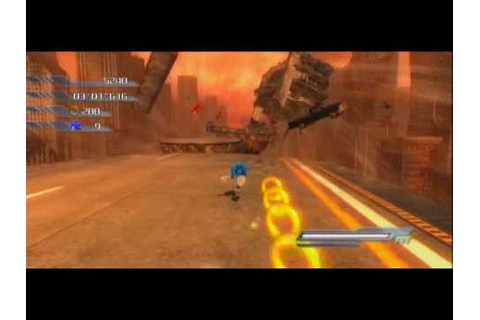 Xbox360 - Sonic the Hedgehog 2006: Sonic Act 4 Crisis City ...