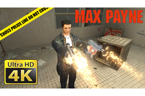 Max Payne : Old Games in 4K - YouTube