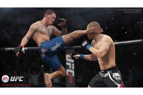 Hands-On Preview: EA Sports UFC Demo
