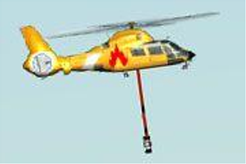 Fire Helicopter Game Play - Helicopter Games