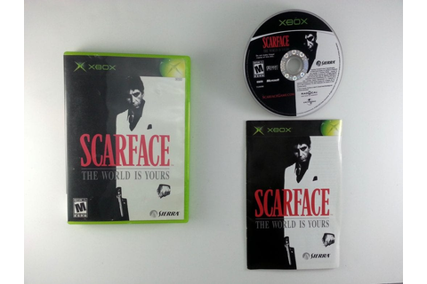 Scarface the World is Yours game for Xbox (Complete) | The ...
