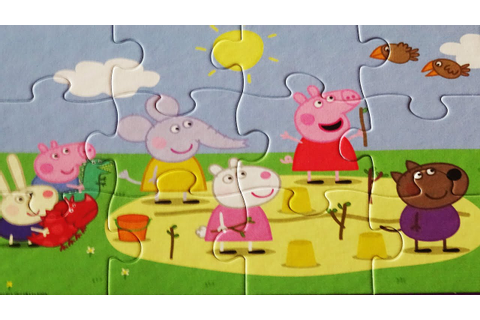 Puzzle Games PEPPA PIG Jigsaw Puzzles Rompecabezas Jumbo ...