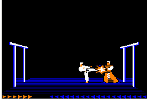 Karateka now available for iPhone and iPad | TouchMyApps