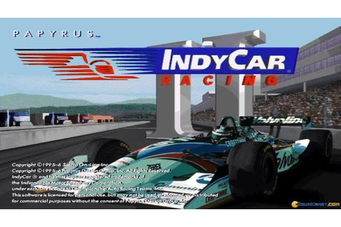 Indycar Racing 2 gameplay (PC Game, 1996) - YouTube