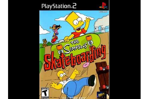 The Simpsons Skateboarding PS2 Itchy + Scratchy Land 3 ...