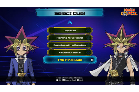 Yu-Gi-Oh! Legacy of the Duelist Save Game | Manga Council