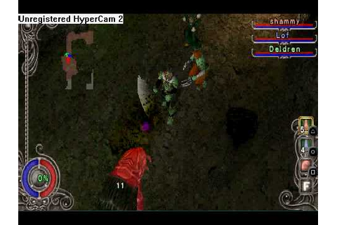 dungeon explorer warriors of ancient arts psp gameplay ...
