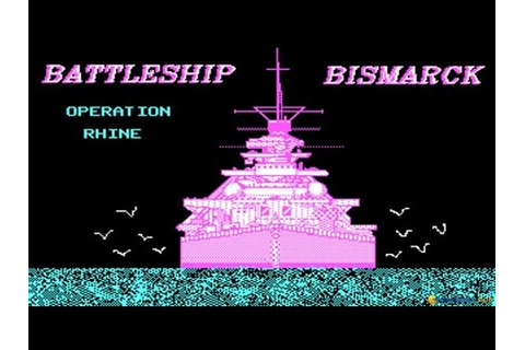 Battleship Bismarck gameplay (PC Game, 1987) - YouTube