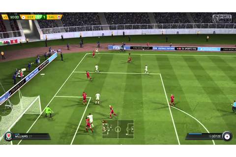 FIFA 15 Gales vs Alemania/ FIFA world cup Rusia 2018 - YouTube