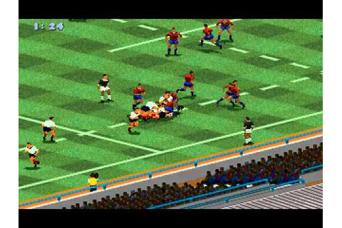 Rugby World Cup 95 (The Creative Assembly) (MS-DOS) [1995 ...