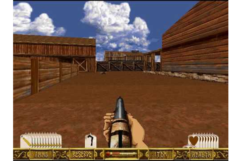 LucasArts Outlaws PC Game - YouTube
