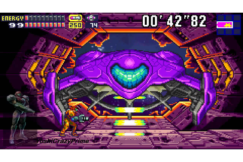 Metroid Fusion- Vs SA-X, Escape, Final Boss and Ending 100 ...