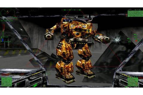 Trash the Factory! - MechWarrior 3 HD Online Play - YouTube
