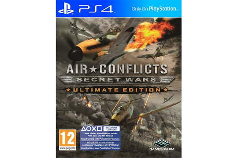 Air Conflicts Secret Wars Ultimate Edition - PS4 Game ...