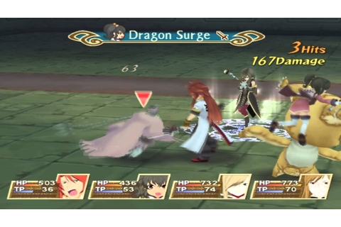 Tales of The Abyss gameplay running on PC with PCSX2 - YouTube