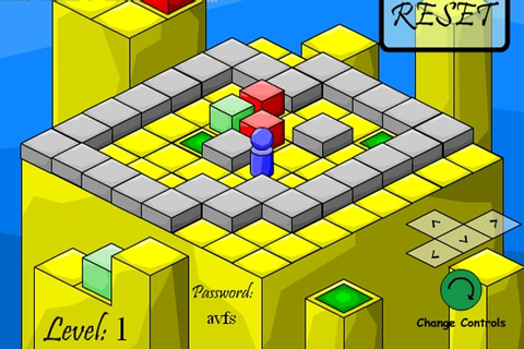 Isometric Sokoban Game - Sokoban games - Games Loon