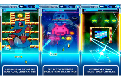 Arkanoid vs. Space Invaders is a thing of beauty