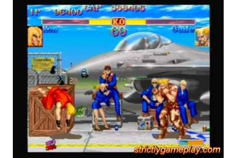 Street Fighter Anniversary Collection PS2 Gameplay - YouTube