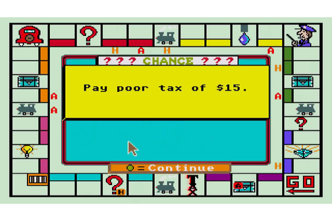 ATARI ST MONOPOLY By David Addison 1985 A Parker Brothers ...
