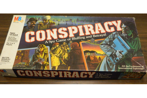 Conspiracy Board Game Review and Rules | Geeky Hobbies