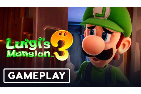 Luigi's Mansion 3 Gameplay Walkthrough and Multiplayer ...
