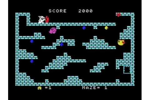 MSX game Chack'n POP [TAITO]チャックンポップ - YouTube