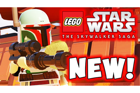 NEW! LEGO Star Wars The Skywalker Saga New Characters! New ...