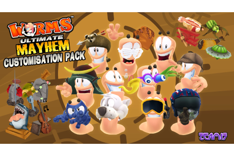 Worms Ultimate Mayhem DLC announced - Blast