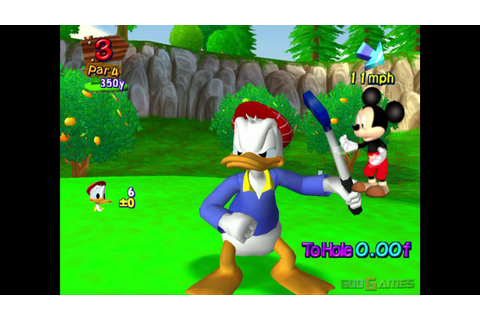 Disney Golf - Gameplay PS2 HD 720P - YouTube