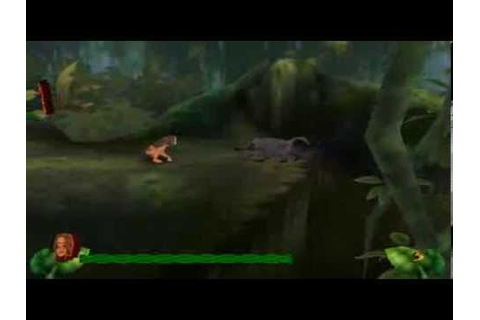 P.C.game - Disney's Tarzan Action Game - Level 1 - YouTube