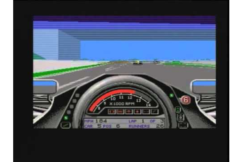 Formula One Grand Prix - Microprose - 1992 - Amiga Game ...