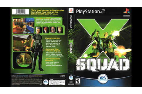 [PS2] X-Squad Gameplay [PCSX2][1080p] HD - YouTube