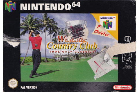 True Golf Classics: Waialae Country Club for Nintendo 64 ...