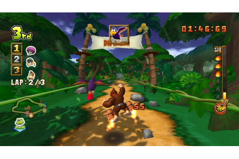 TEST - Donkey Kong Jet Race | GAMES.CZ