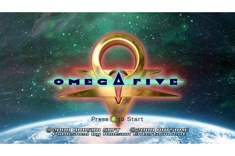 Omega Five (2008) by Natsume X360 game