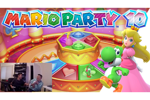 Mario Party 10 - MINI GAMES - Part 2 [Wii U Gameplay ...