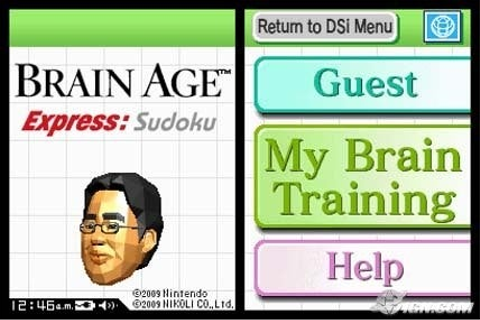 Brain Age Express: Sudoku Screenshots, Pictures ...
