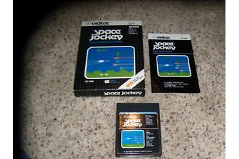 Space Jockey Atari 2600 Game Complete with box and ...
