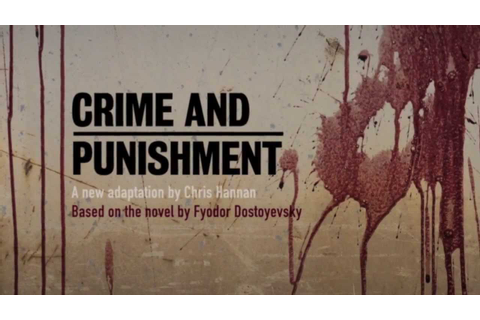 Crime and Punishment Citizens Theatre - YouTube